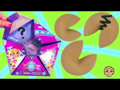 Lucky Fortune Cookie Littlest Pet Shop Surprise Blind Bags Video