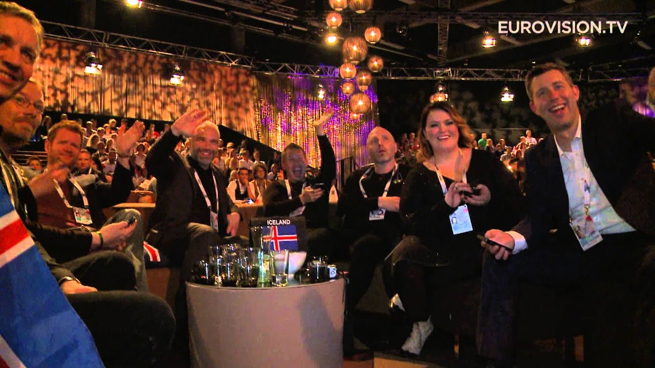 A look in the green room at the Eurovision Song Contest