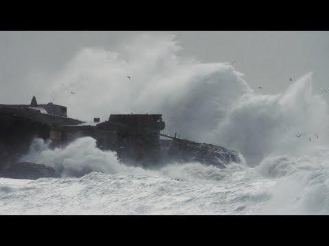 La tormenta del 2008...Tarifa Storm. Film by Ben Welsh