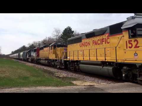 Railfaning Wisconsin on 4/14