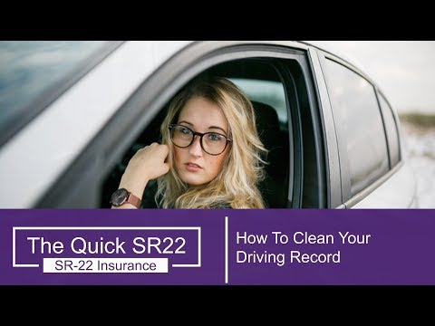 How To Clean Your Driving Record