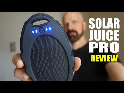 Solar Juice Pro Review: A Solar Mobile Charger?