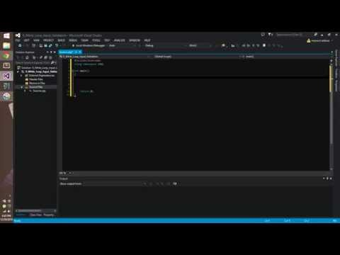 C++ #9 While Loop Input Validation