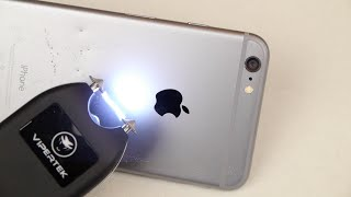 Repeat youtube video What Happens If You Taser an iPhone 6 Plus?