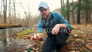 2018 Opening Day | Fly Fishing in PA Mountains for Wild Trout