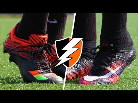 Nike CR7 Mercurial Superfly IV vs. adidas Messi 15.1 e6b8783f07ed8