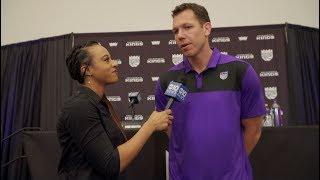 New Kings coach Luke Walton talks to ABC10 about his desire to come to Sacramento