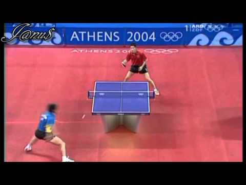 2004 Olympics (ms-sf) WANG Liqin - WANG Hao [Full* Match|Short Form]