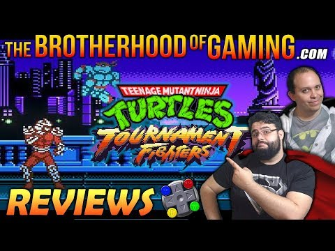 TEENAGE MUTANT NINJA TURTLES: Tournament Fighters (NES) Review // The Brotherhood of Gaming
