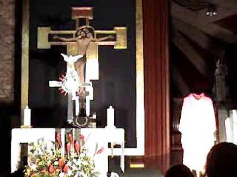 Hora Santa Jesus Sumo y eterno Sacerdote 2009 1-7