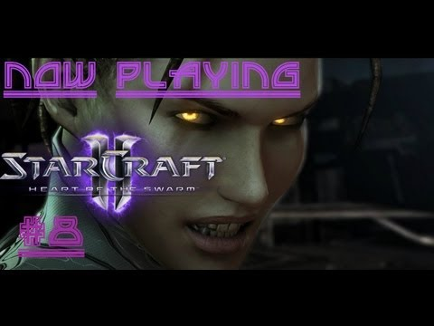 "Now Playing - StarCraft 2 Heart of The Swarm ""Shoot the Messenger"""