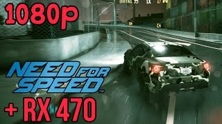 Need for Speed | AMD RX 470 | FRAME RATE | (1080p)