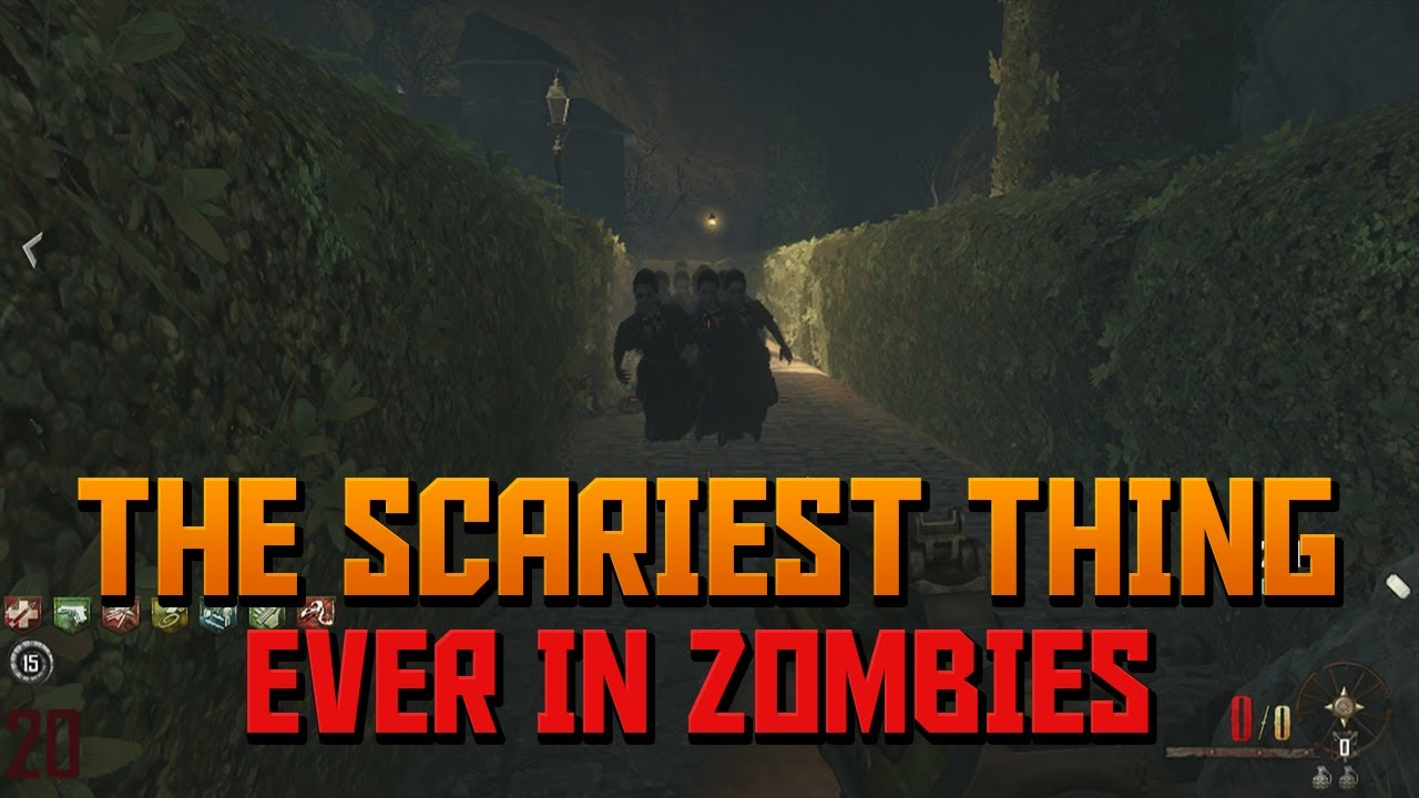 "The Scariest thing ever in Zombies (Black Ops 2 ""Buried ...