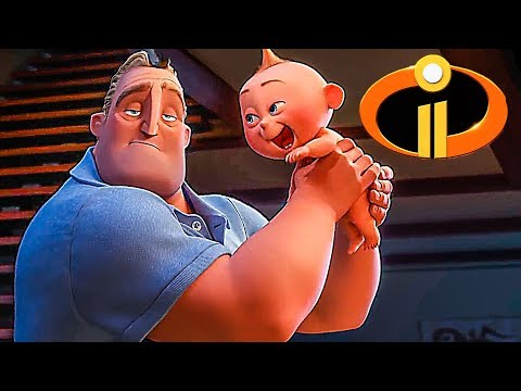 INCREDIBLES 2 Trailer ✩ (Animation, Kids Family Movie 2018