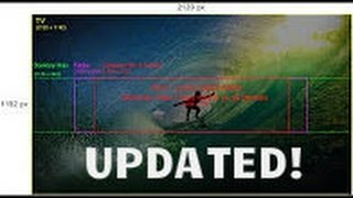 How to make a 2560 x 1440 Youtube Channel Art for FREE! NO DOWNLOAD! [UPDATED]