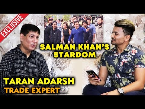 Trade Expert Taran Adarsh Reaction On Salman Khan's MASSIVE STARDOM