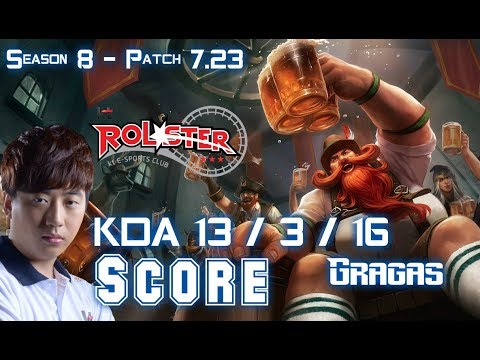 KT Score GRAGAS vs TRISTANA Jungle