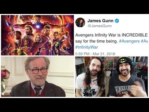 AVENGERS: INFINITY WAR NEWS (Highest Pre Sales, James Gunn's REACTION) and MORE Movie News!