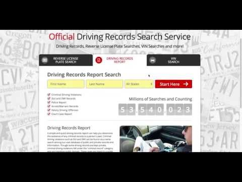 How To Get Your DMV Driving Records