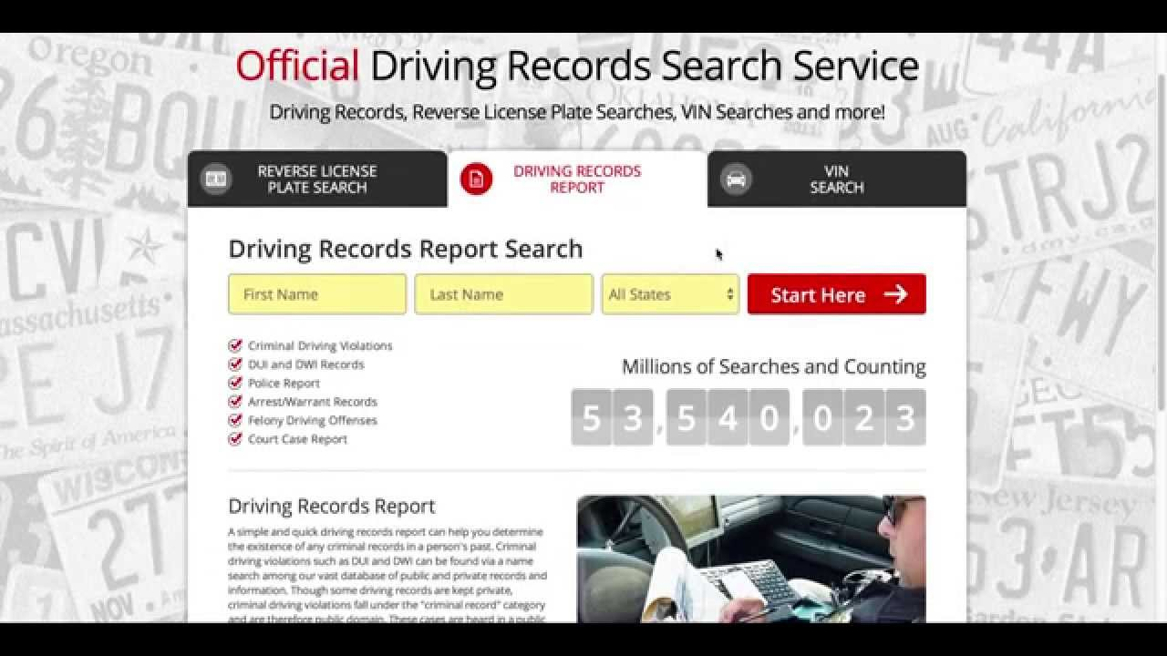 How To Get Your DMV Driving Records In Every State - Drive
