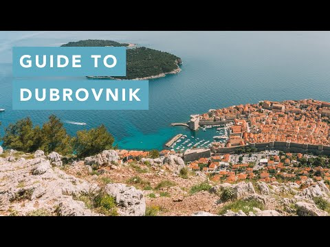Travel Guide: Things to do in Dubrovnik, Croatia