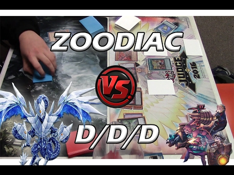Yu-Gi-Oh D/D/D Vs Zoodiac Kaiju - Full Match (February 2017)