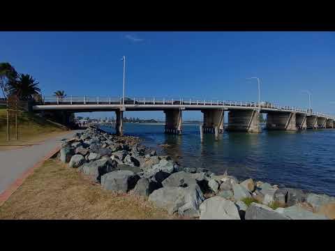 4K-View: Australia Places - Foster (NSW) * UHD SlideShow - Gentle Instrumental Worship