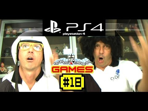 Mundo Canibal Games 18 - PS4 e Harlem Shake