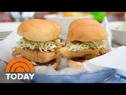 Martha Stewart Shows How To Cook Up A Traditional Fish Fry | TODAY