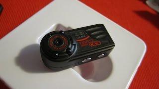 Обзор мини видеокамеры QQ6(Небольшой обзор мини видеокамеры QQ6, которая может работать как видео регистратор. Любезно предоставлен..., 2016-05-25T21:39:36.000Z)