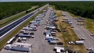 Maryland International Raceway FBG Summer Nats Fly Over