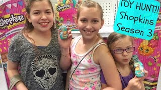Toy Hunt!! | Shopkins Season 3 | Toy-ology