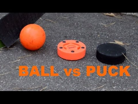 Is PUCK Or BALL Best For Roller Hockey?