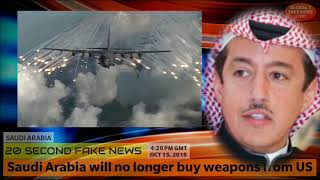 Saudi Arabia will no longer buy Weapons from US Manufacturers - Saudi Arabia Latest NEWS Today