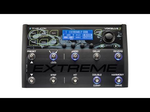TC-Helicon VoiceLive 3 Extreme Review by Sweetwater Sound