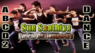 Sun Saathiya-ABCD 2 Contemporary Dance Choreography ft Vicky Patel