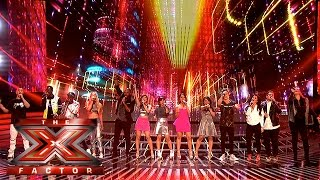 What A Feeling! Watch our Finalists perform Flashdance hit | Week 3 Results | The X Factor 2015