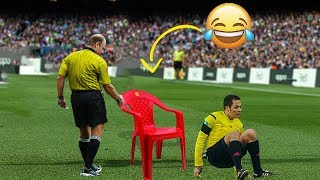 Football Referees Funny Moments ● Crazy Funny fails HD