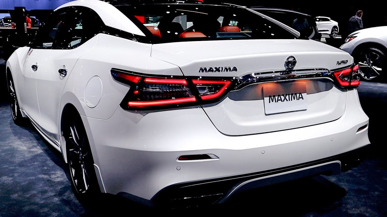 2019 Nissan Maxima Platinum (Facelift) - Walkaround - YouTube