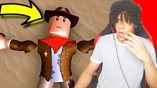 I WAS IN A ROBLOX MOVIE!?! Phantom Of The West - A Western Roblox Movie (Official Release) Bengo