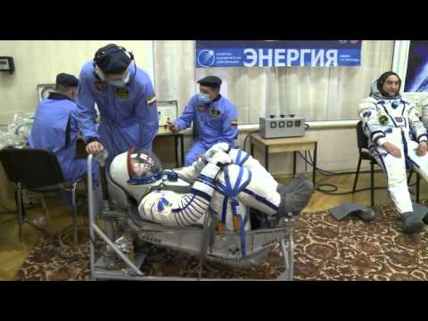 Expedition 39/40 Activities from the Baikonur Cosmodrome