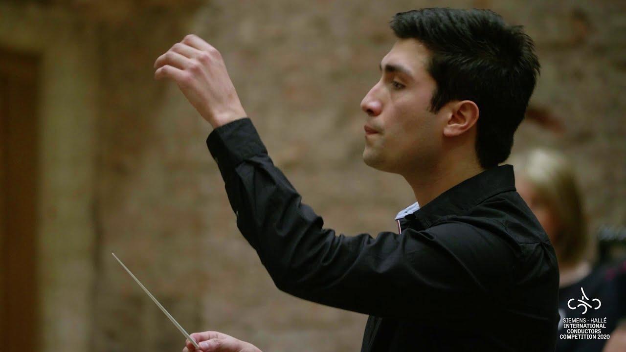 Rodolfo Barráez conducts excerpts from Dvorak's Symphony No. 9 in E minor, Siemens Hallé Competition