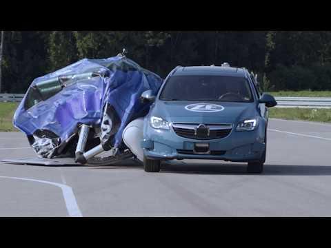 Фирма ZF реализовала внешние подушки безопасности для автомобиля