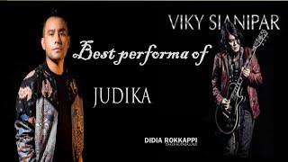 Konser Vicky Sianipar feat JUDIKA Lagu Batak Didia Rokappi di Medan