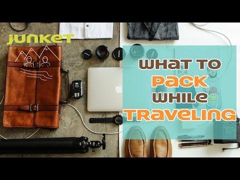 Junket #6 - Travel ESSENTIALS