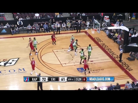 Edy Tavares posts 15 points, 12 blocks & 11 rebounds vs. the BayHawks