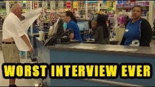 CRACK ADDICT APPLIES FOR A JOB AT TOYS R US PRANK (Under the influence)