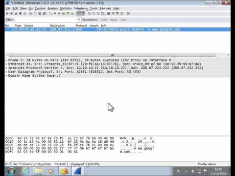 Wireshark Hex Import - YouTube