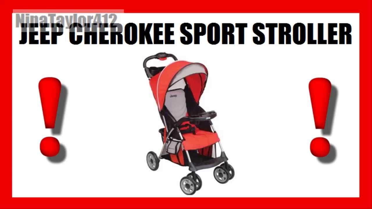 jeep cherokee sport stroller - get the best price! - youtube