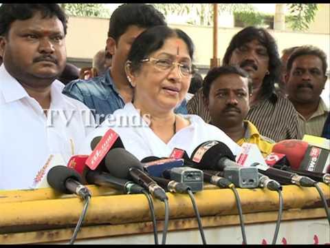 Bharathi Vishnuvardhan condolences Death of Parvathamma Rajkumar
